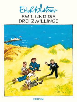 Emil und die drei Zwillinge - Erich Kästner  [Gebundene Ausgabe]