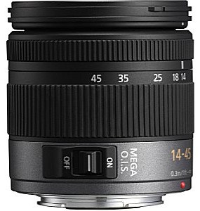 Panasonic Lumix G VARIO 14-45 mm F3.5-5.6 ASPH. O.I.S. 52 mm Obiettivo (compatible con Micro Four Thirds) nero