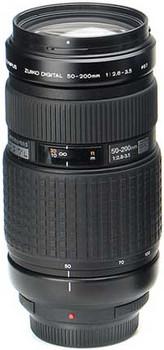 Olympus 50-200 mm F2.8-3.5 ED 67 mm filter (geschikt voor Four Thirds) zwart