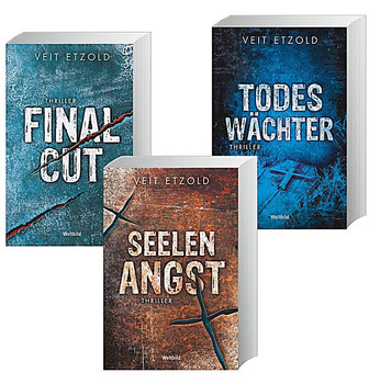 Clara Vidalis Reihe: Band 1-3 - Final Cut / Seelenangst / Todeswächter - Veit Etzold [3 Bände, Taschenbuch, Weltbild]