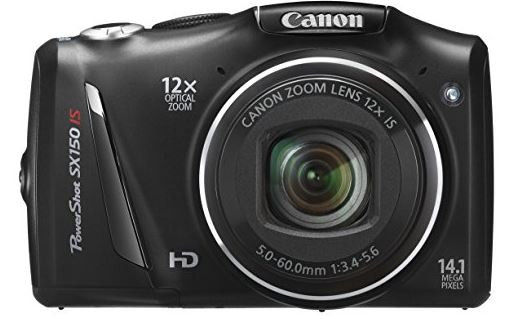 Canon PowerShot SX 150 IS negro