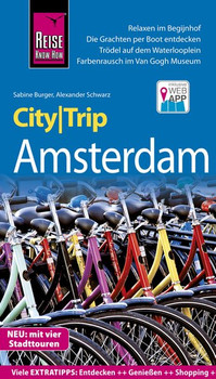 Reise Know-How CityTrip Amsterdam. Reiseführer mit Stadtplan, 4 Stadttouren und kostenloser Web-App - Sabine Burger  [Taschenbuch]