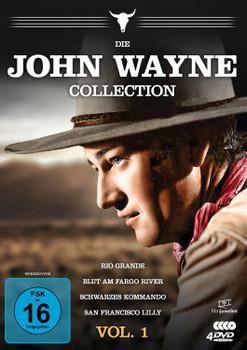 Die John Wayne Collection - Vol. 1 [4 DVDs]