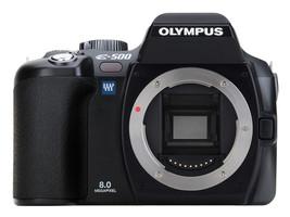 Olympus E-500 Cuerpo negro