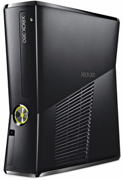 Microsoft Xbox 360 Slim 250GB [inkl. Wireless Controller] matt schwarz