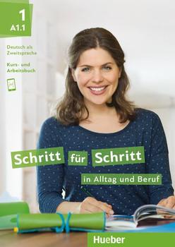 Schritt für Schritt in Alltag und Beruf 1. Deutsch als Zweitsprache / Kursbuch + Arbeitsbuch - Monika Bovermann  [Taschenbuch]