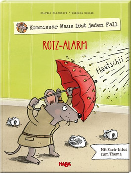Kommissar Maus löst jeden Fall - Rotz-Alarm - Sibylle Rieckhoff  [Gebundene Ausgabe]