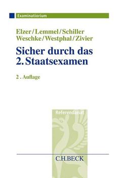 Sicher durch das 2. Staatsexamen - Ezra Zivier  [Taschenbuch]
