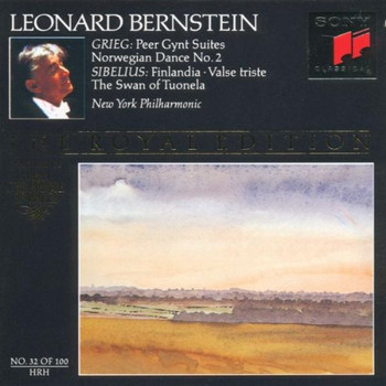 Leonard Bernstein - Grieg: Peer Gynt Suites, Norwegian Dance No. 2 / Sibelius: Finlandia, Valse triste, The Swan of Tuonela