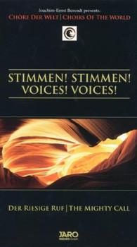 Joachim-Ernst Berendt - Voice - Joachim-Ernst Berendt Presents: Stimmen, Stimmen (Der riesige Ruf / The Mighty Call)