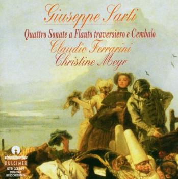 Claudio Ferrarini - Sarti: Quatro Sonate a Flauto traversiero e Cembalo