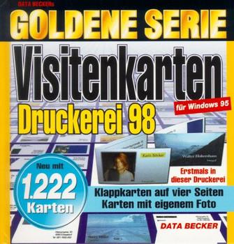 Goldene Serie Visitenkarten Druckerei Cd Rom Für Windows 95 Ulrike Heuter