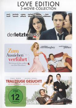 Der letzte Kuss / Zum Ausziehen verführt / Trauzeuge gesucht! [3 DVDs, Love Edition]