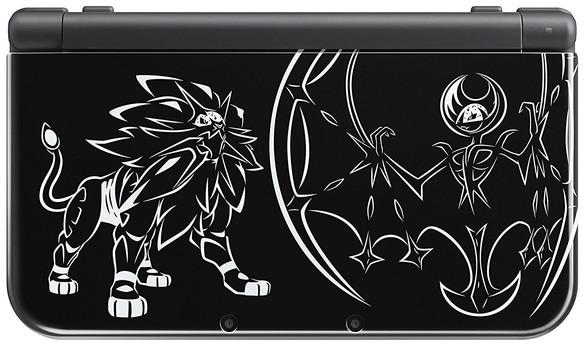 Nintendo New 3DS XL [Solgaleo et Lunala Limited Edition] noir