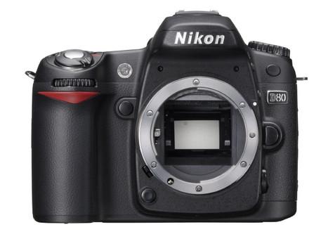 Nikon D80 zwart