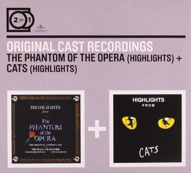 Original London Cast - 2 for 1:Phantom of the Opera/Cats (Highlights)