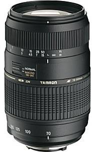 Tamron AF 70-300 mm 4.0-5.6 Di LD Macro 1:2 62 mm Objectif  (adapté à Canon EF) noir