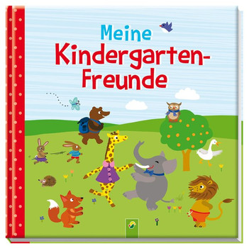 Meine Kindergarten-Freunde. Motiv Tiere [Gebundene Ausgabe]