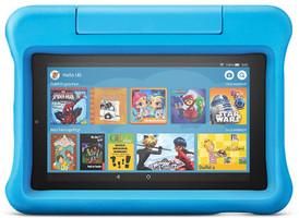 """Amazon Fire 7 7"""" 16GB [wifi, Kids Edition, model 2019] blauw"""
