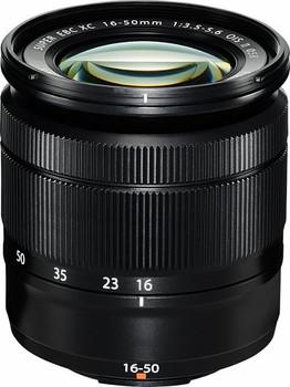 Fujifilm Fujinon XC 16-50 mm F3.5-5.6 OIS II 58 mm Objectif (adapté à Fujifilm X) noir
