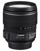 Canon EF-S 15-85 mm F3.5-5.6 IS USM 72 mm Obiettivo (compatible con Canon EF-S) nero