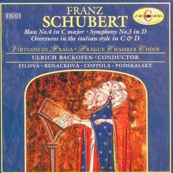 Virtousi di Praga - Messe 4 / Sinfonie 3 u.a.