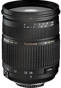 Tamron SP AF 28-75 mm F2.8 ASL Di XR IF LD Macro 67 mm Obiettivo (compatible con Nikon F) nero