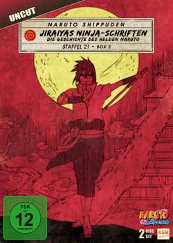 Naruto Shippuden - Die komplette Staffel 21, Box 2 [2 DVDs]