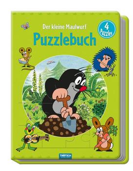"""Puzzlebuch """"Der kleine Maulwurf"""". 4 Puzzles [Gebundene Ausgabe]"""