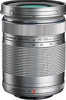 Olympus M.Zuiko Digital 40-150 mm F4.0-5.6 ED R 58 mm Objetivo (Montura Micro Four Thirds) plata