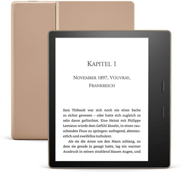"Amazon Kindle Oasis 3 7"" 32GB [Wi-Fi, model 2019] goud"