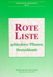 Rote Liste gefährdeter Pflanzen Deutschlands