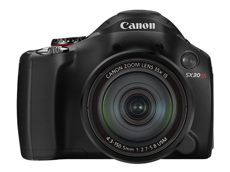 Canon PowerShot SX30 IS zwart