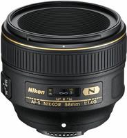 Nikon AF-S NIKKOR 58 mm F1.4 G 72 mm Objectif (adapté à Nikon F) noir