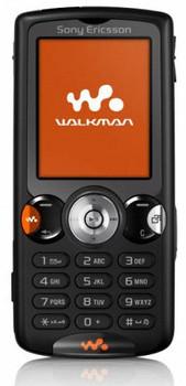 Sony Ericsson W810i schwarz
