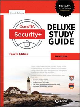 CompTIA Security+ Deluxe Study Guide. Exam SY0-501 - Emmett Dulaney  [Gebundene Ausgabe]