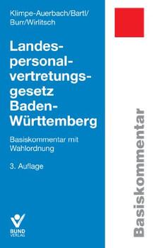 Landespersonalvertretungsgesetz Baden-Württemberg - Wolf Klimpe-Auerbach