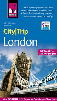 Reise Know-How CityTrip London. Reiseführer mit Stadtplan, 4 Spaziergängen und kostenloser Web-App - Simon Hart  [Taschenbuch]