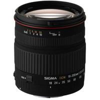 Sigma 18-200 mm F3.5-6.3 DC 62 mm filter (geschikt voor Sony A-mount) zwart