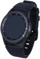 Samsung Gear S3 frontier 33mm gris espacial con correa de silicona azul negro [Wifi]