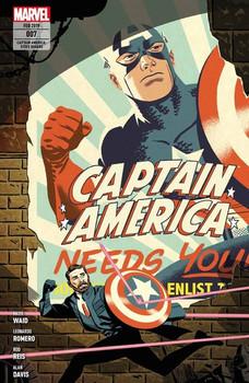 Captain America: Steve Rogers. Bd. 7 - Leonardo Romero  [Taschenbuch]