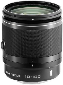 Nikon 1 NIKKOR 10-100 mm F4-5.6 VR 55 mm Obiettivo (compatible con Nikon 1) nero