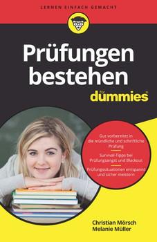 Prüfungen bestehen für Dummies - Melanie Müller  [Taschenbuch]