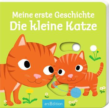 Meine erste Geschichte Die kleine Katze - Nathalie Choux [Pappbilderbuch]