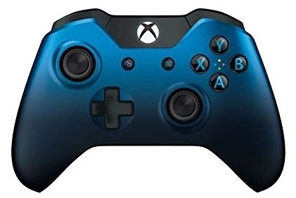 Microsoft Xbox One Wireless Controller [Dusk Shadow Special Edition] blau schwarz