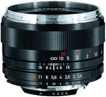 Zeiss Planar T* 50 mm F1.4 ZF.2 58 mm objectif (adapté Nikon F) noir