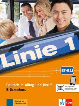 Linie 1 B2. Deutsch in Alltag und Beruf. Kurs- und Übungsbuch Teil 1 mit Audios und Videos - Ulrike Moritz  [Taschenbuch]