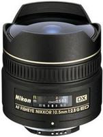 Nikon AF DX NIKKOR 10,5 mm F2.8 G  (Montura Nikon F) negro