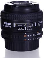Nikon AF NIKKOR 35 mm F2.0 D 52 mm filter (geschikt voor Nikon F) zwart