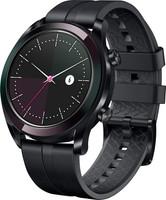 Huawei Watch GT 42,8 mm noir et bracelet en silicone graphite black [Elegant Edition]